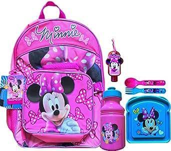 Amazon.com | Disney Minnie Mouse 6 Pc Children's Back To
