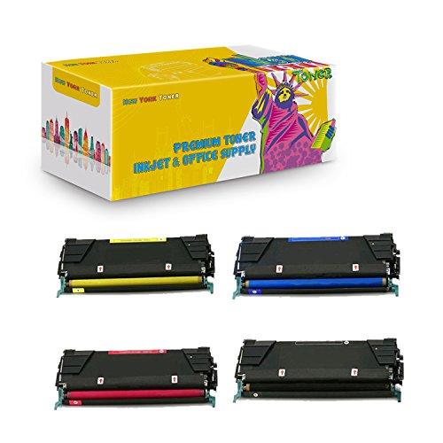 New York TonerTM New Compatible 4 Pack 39V2449 39V2446 39V2447 39V2448 High Yield Toner for IBM - InfoPrint Color 1834 | 1846 | 1854 | 1856 | 1866 . -- - Colour Infoprint
