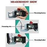 HONG111 Digital Thickness Gauges Mini Portable