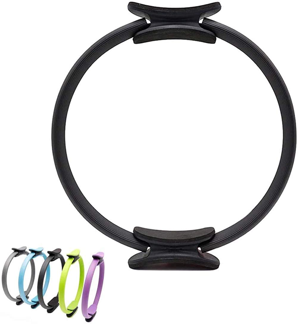 BriskyM Pilates Ring Unbreakable Fitness Yoga Ring Kraftwiderstand /Übungskreis f/ür Shaping und Fitness