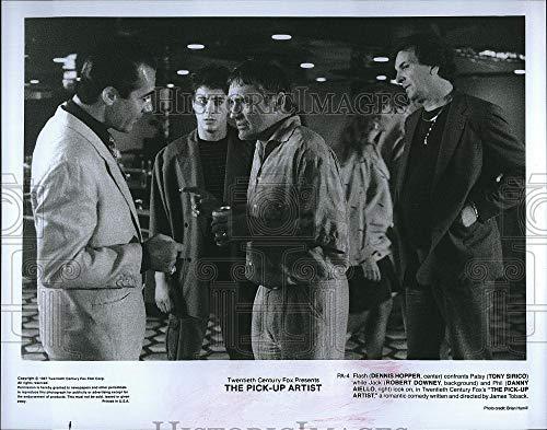 1987 Press Photo Actor Dennis Hopper in