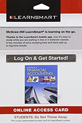 LearnSmart Access Card for Fundamentals of Financial Accounting