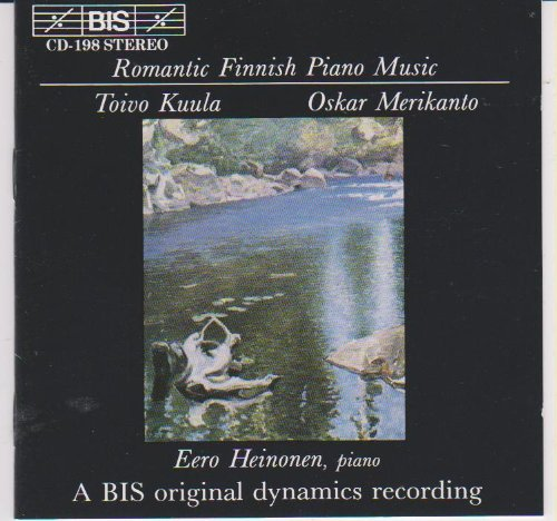 (Romantic Finnish Piano Music)