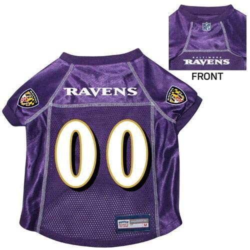 Hunter NFL Baltimore Ravens Pet Jersey, Large, Purple