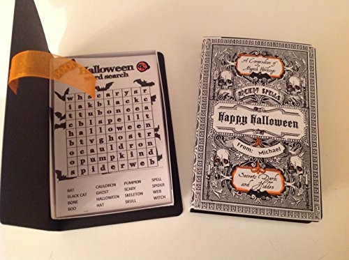 Halloween Book With Word Search Puzzles -