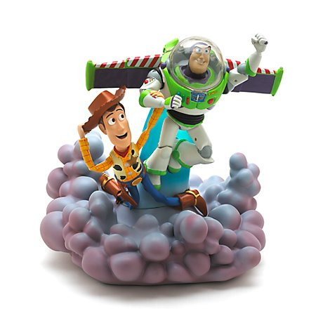 Toy Story - Buzz und Woody Deluxe-Figurine with Light