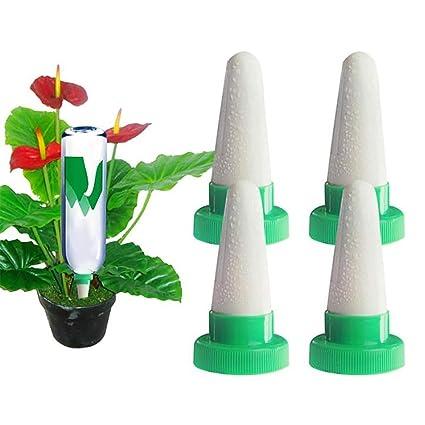 Bewässerung 6er-Set Pflanzen-Bewässerungssystem mit Tonspitze