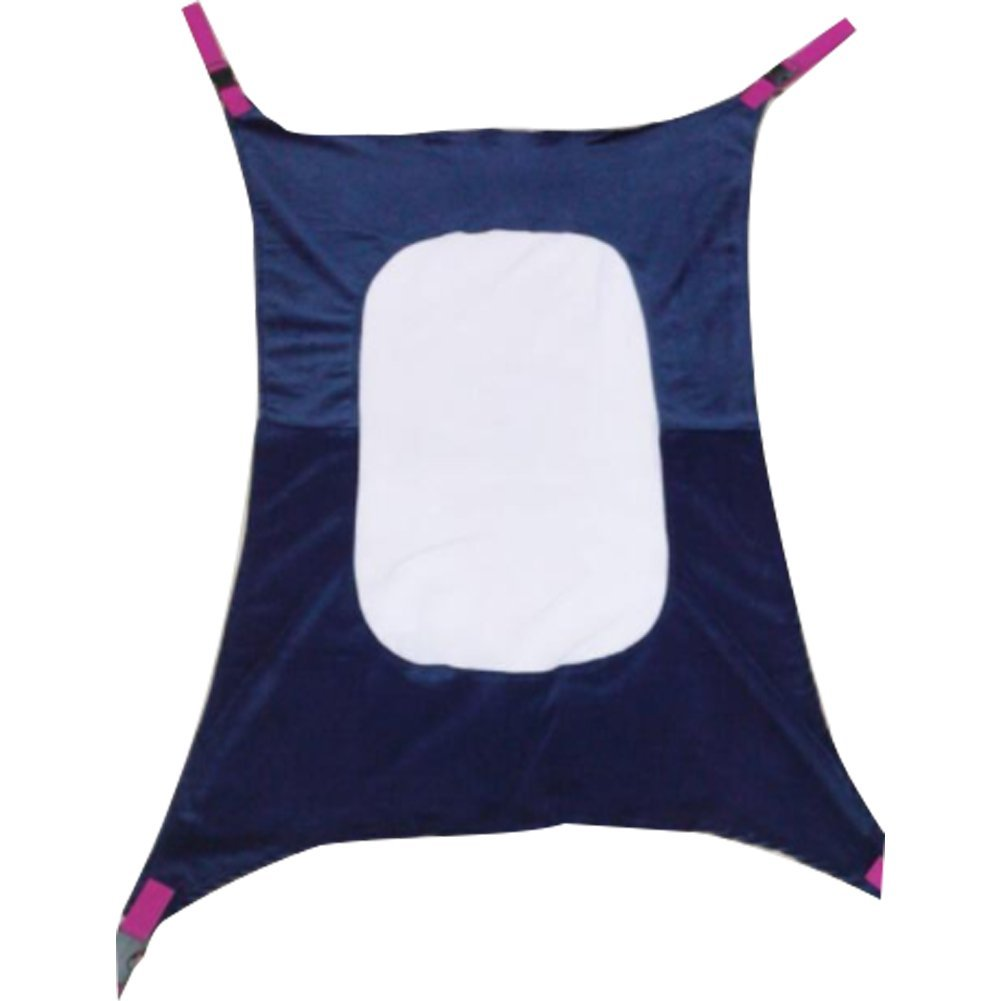 newin Star Amaca per Neonato, Hammock per bambini portatile, letto ciondolo per neonati confortevole e traspirante rimovibile per bambini (Blu)