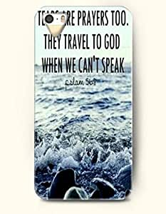 iPhone 5 5S Case OOFIT Phone Hard Case ** NEW ** Case with Design Tears Are Prayers Too. They Travel To God When We Can'T Speak Psalm 56:8- Bible Verses - Case for Apple iPhone 5/5s