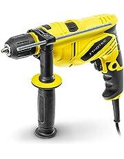 TROTEC Taladro percutor PHDS 10-230V (650 Watt, Diámetro de perforación máx: madera: 30 mm, Mampostería / ladrillo: 13 mm)