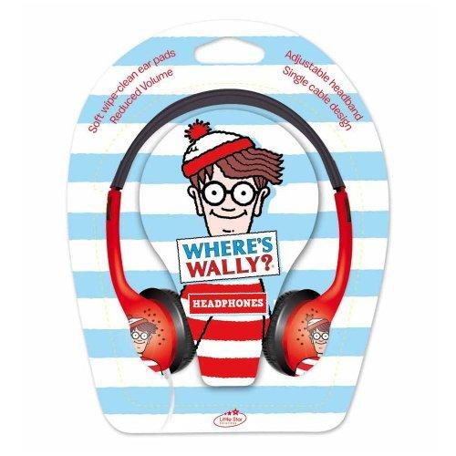 little-star-wheres-wally-kids-headphones