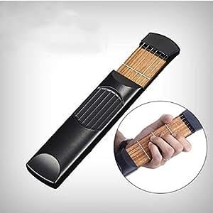 hot sale beginner practice portable guitar trainer pocket guitar hand type chord. Black Bedroom Furniture Sets. Home Design Ideas