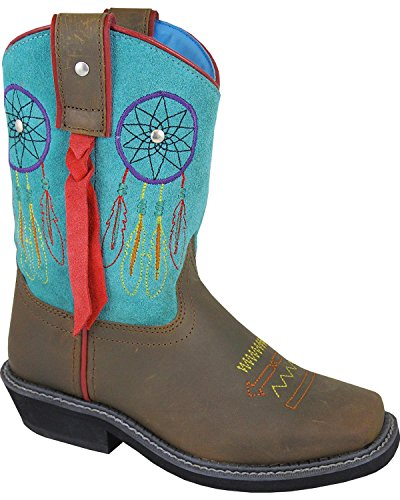 Smoky Mountain Girls' Dreamcatcher Western Boot Square To...