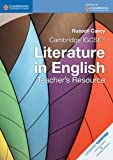 Cambridge IGCSE Literature in English Teacher's Resource, Russell Carey, 1107637058