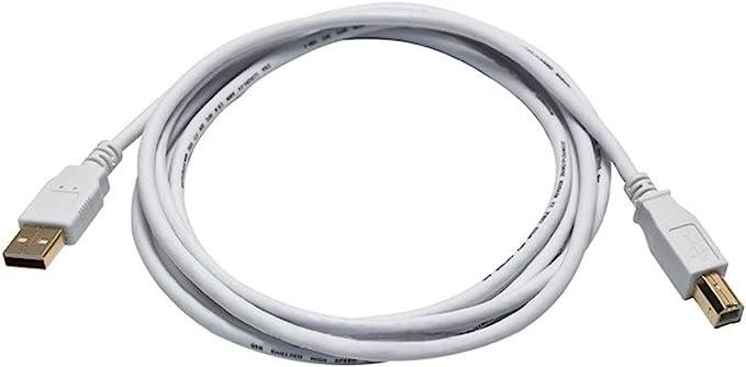 15ft USB 2.0 Extension /& 10ft A Male//B Male Cable for Oki Data ML320 Turbo 9pin Dot Matrix Printer
