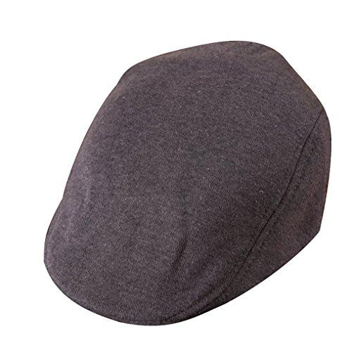 Cm Pour Couleurs Coton Plate Enfant Chapeau Foncé En 5 Gris Casquette 50 Fille Garçon Tour De Tête Béret Acvip 52 qwfpZp