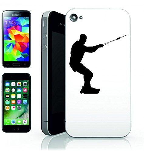 Smartphone Case Surfer Acqua di Sport di Atletica di Esercizio di fitness della salute del drago Uomo di silhouette del vento di KITE per Apple Iphone 4/4S, 5/5S, 5C, 6/6S, 7& Samsung Galaxy S4, S
