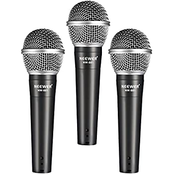 neewer dynamic vocal recording microphone set 3 nw 881 vocal recording. Black Bedroom Furniture Sets. Home Design Ideas