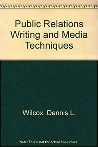 public relations writing and media techniques 6th edition pdf