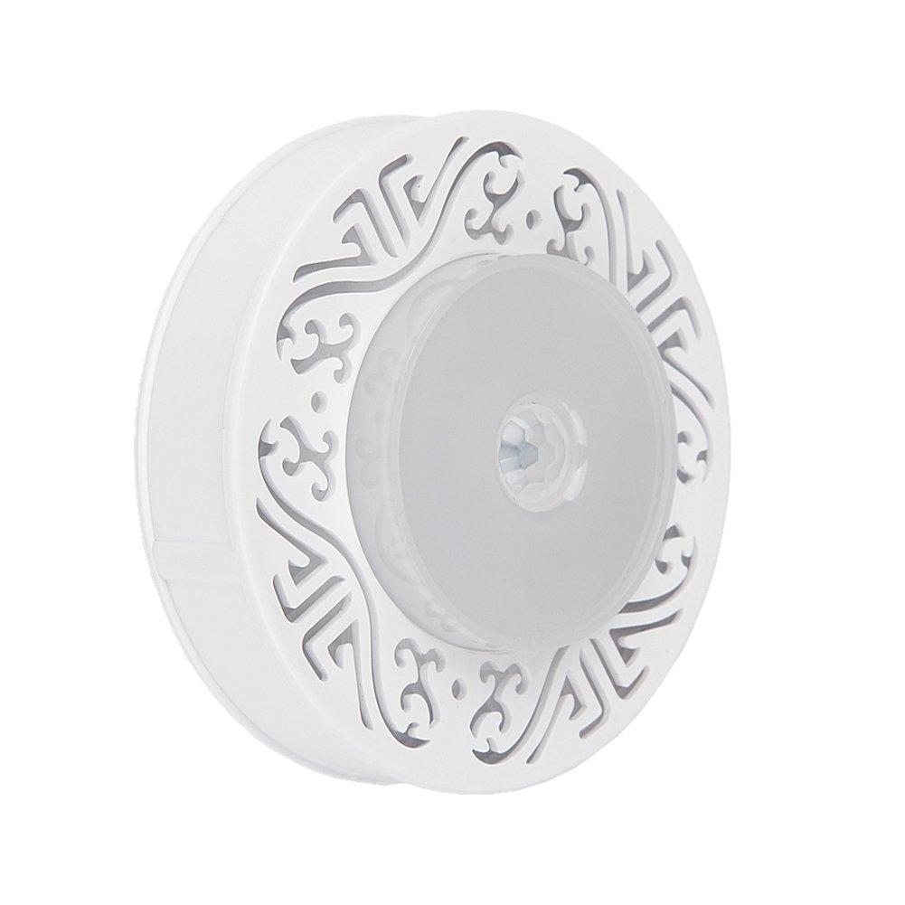 IMINOVOモーションセンサーライト、スマートポータブルバッテリ駆動式モーション検知LEDナイトライト、コードレス壁ライトステップライトfor廊下、クローゼット、階段、寝室、保育園。 IMI-YD062B B01LW57OB7 17203 1パック 1パック