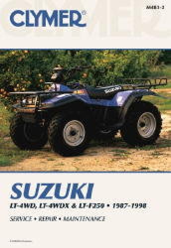 - Clymer m4832 manual suz king quad/runner (M4832)
