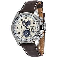 Seiko Men's Prospex Stainless Steel World Time Solar Chronograph Watch