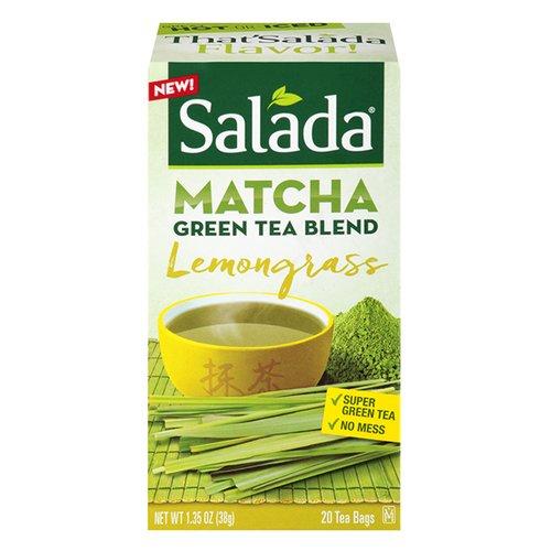 (Salada Matcha Lemongrass Green Tea Blend 20 Ct (Pack of 2))
