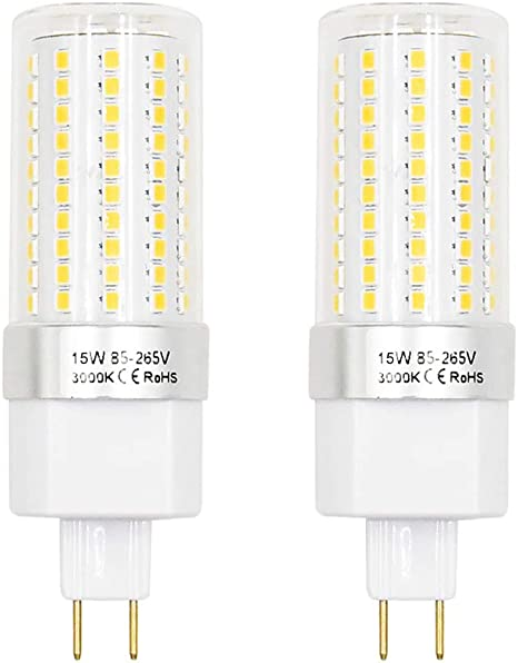 Best to Buy 6-pack LED-G8-4W-Corn COB SHORT-110V-130V Replacement LED Light Bulb-Warm white