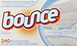 Bounce Free Sheets, 240 Count, 240-count (pack Of 6)