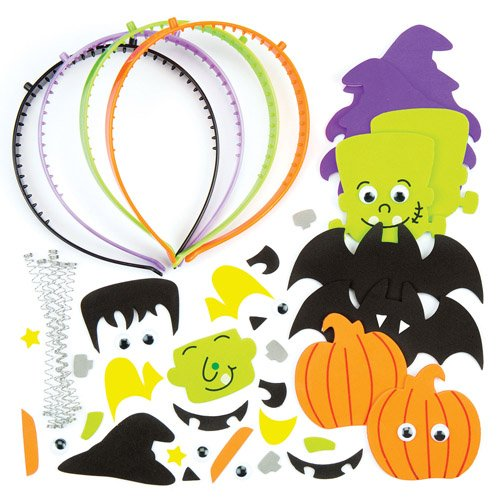 Halloween Head Bopper Kits For Kids Fun-Packed Halloween Toys At Pocket Money Prices - Perfect Party Bag Fillers For Children (Pack of (Ross Halloween Party)