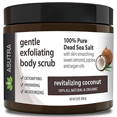 Best ORGANIC Exfoliating Body Scrub from ASUTRA