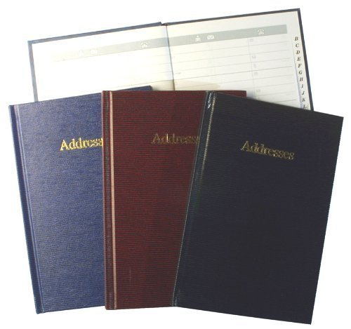 Large A5+ Address Book