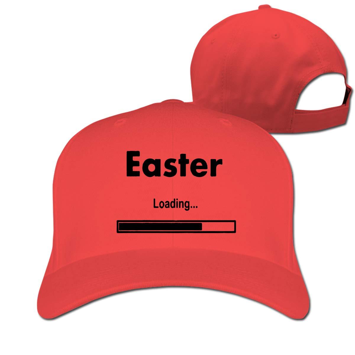 Easter Loading-1 Unisex Pure Color Baseball Cap Classic Adjustable Plain Hat