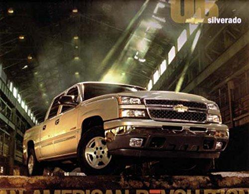 2006 Chevrolet Silverado Sales Brochure Literature Book Advertisement Options (Silverado Brochure Sales)