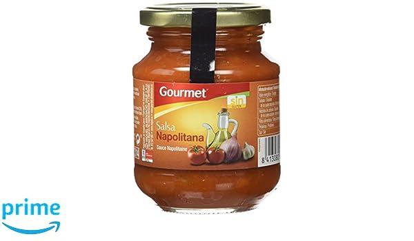 Gourmet - Salsa Napolitana - 300 g - [Pack de 12]: Amazon.es: Alimentación y bebidas