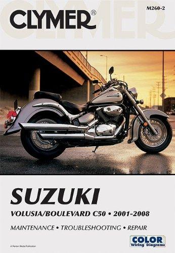 clymer suzuki volusia boulevard c50 2001 2008 clymer motorcycle rh amazon com