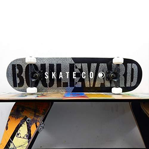 新品 BOULEVARD B07NRTR4WL スケートボード コンプリート セット BOULEVARD STONE 完成品 BOULEVARD COMPLETE BLACK STONE 7.75インチ B07NRTR4WL, 西東京市:bb881e55 --- a0267596.xsph.ru