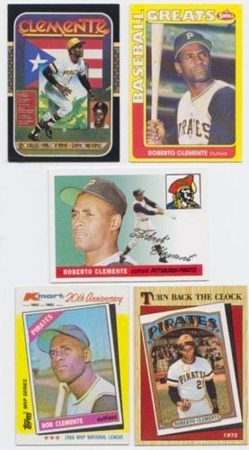 Roberto Clemente Memorabilia (Roberto Clemente / 5 Baseball Card)