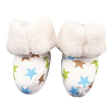 CHIC-CHIC botas botines Ouaté terciopelo suave – Zapatos de Nieve para bebé niña niño