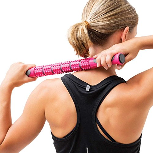 Body Massage Stick for Active Women with Free Exercise (Stress Ball Boss)