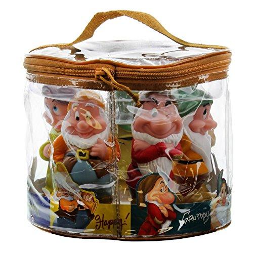Amazon.com: Disney Snow White Seven Dwarf Pool Bath Tub Toy Set ...