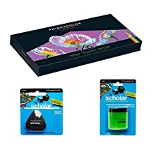 Prismacolor Deluxe Colored Pencil Drawing Kit - 150 Premier Soft Core Colored Pencils in an Easel Stand Case, Pencil Sharpener, Artists Eraser