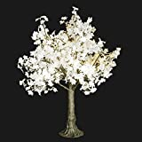 Bright Baum LED Artificial Tree, 5.4 Feet, Snow White Maple