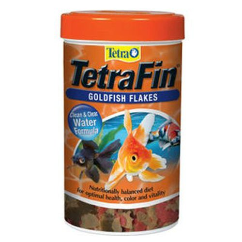 Goldfish Aquarium Flake Food - Tetra Goldfish Flakes, Clear Water Formula 2.2 Ounce