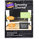 Screaming Halloween Doormat 10x14 Inches With Scary Sounds