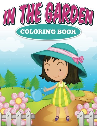 In the Garden Coloring Book PDF