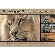 Vic Bearcroft Pastel Velour Pad - Regular Sandy and Light Grey (250mm x 350mm)