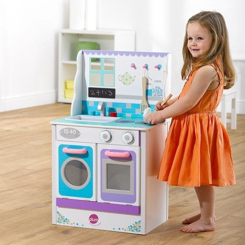Serra Baby Educational.Its Wood and Washing Machine Kitchen Kit by Serra Baby