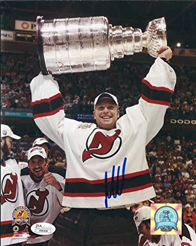 Autographed Martin Brodeur 8x10 New Jersey Devils Photo JSA