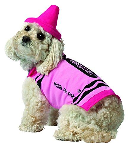 Rasta Imposta Crayola Pink Dog Costume
